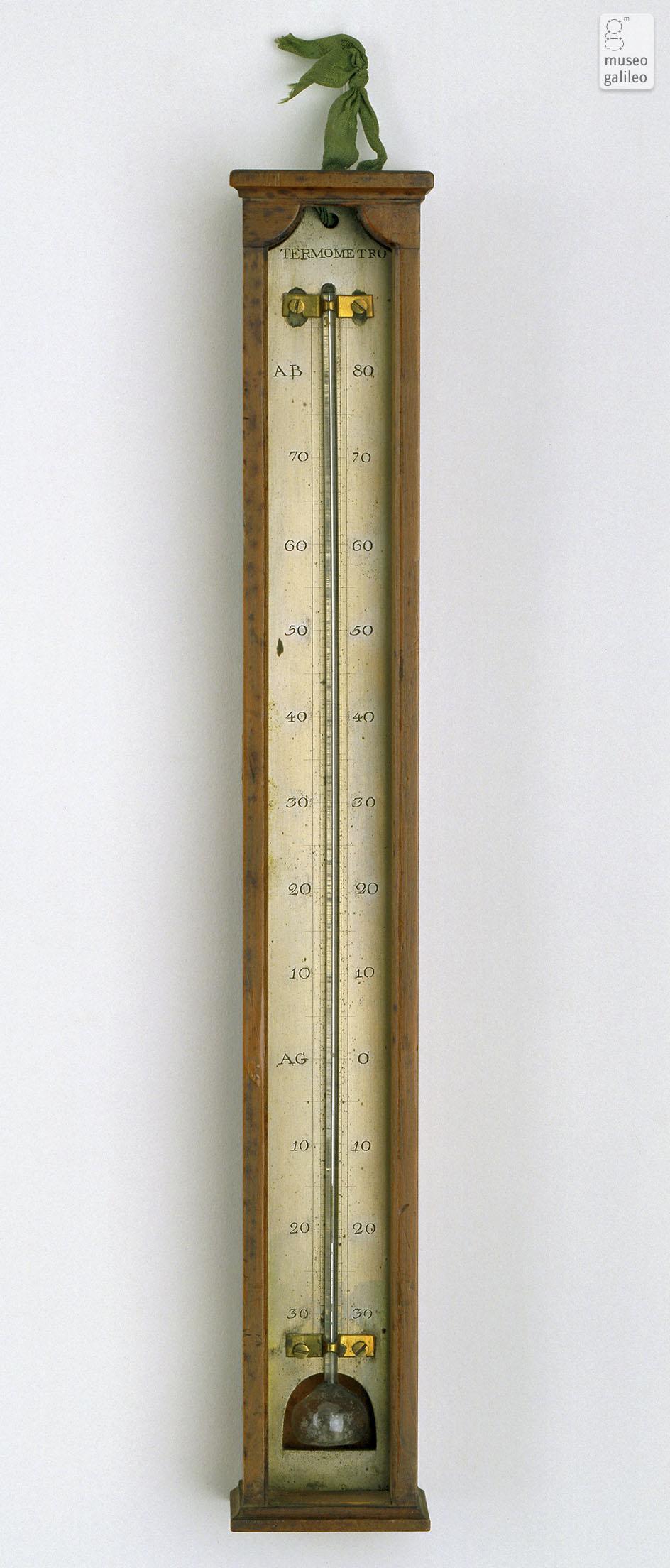 museo galileo   ingrandimento foto   termometro a mercurio